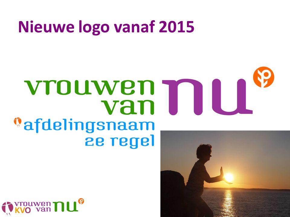 Nieuwe logo vanaf 2015