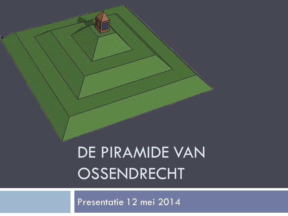 DE PIRAMIDE VAN OSSENDRECHT Presentatie 12 mei 2014