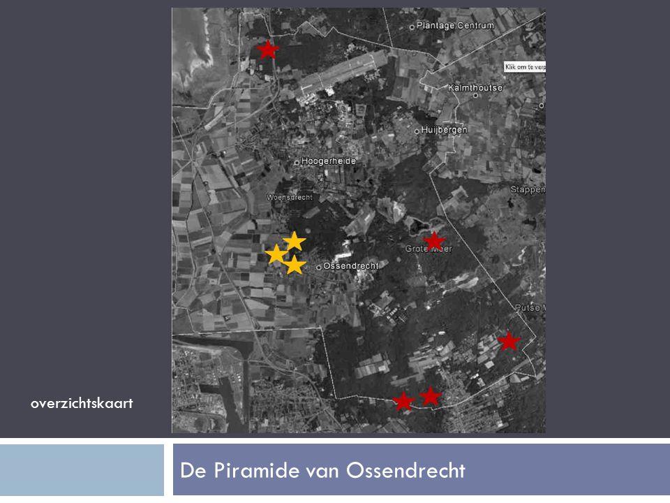 De Piramide van Ossendrecht overzichtskaart