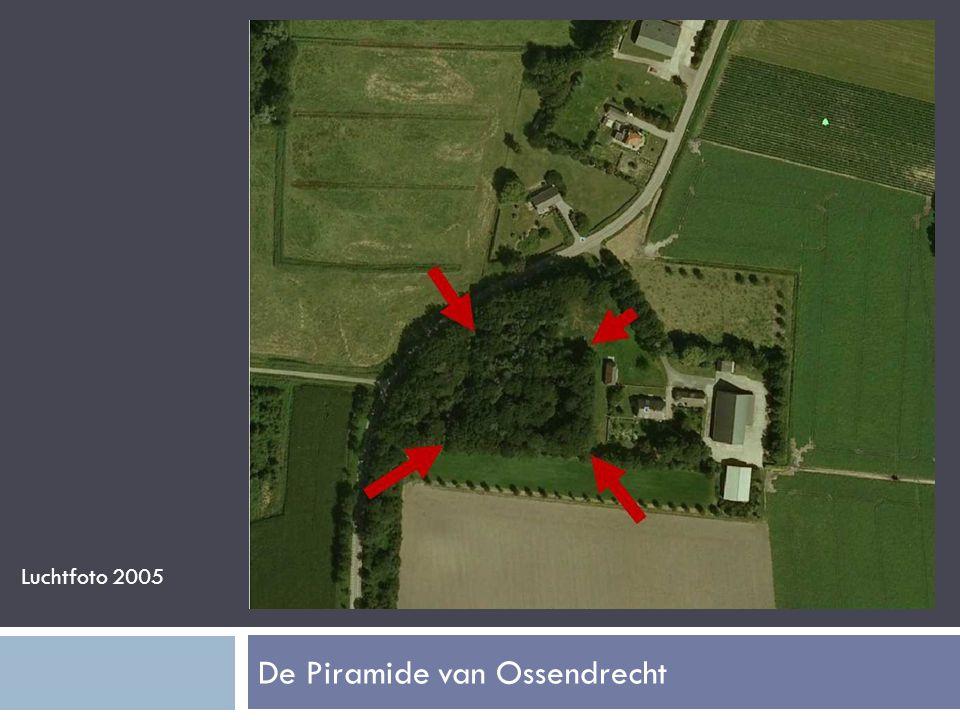 De Piramide van Ossendrecht Luchtfoto 2005