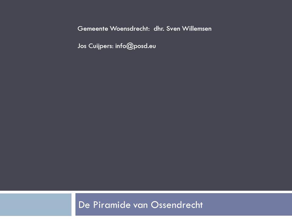 Gemeente Woensdrecht: dhr. Sven Willemsen Jos Cuijpers: info@posd.eu