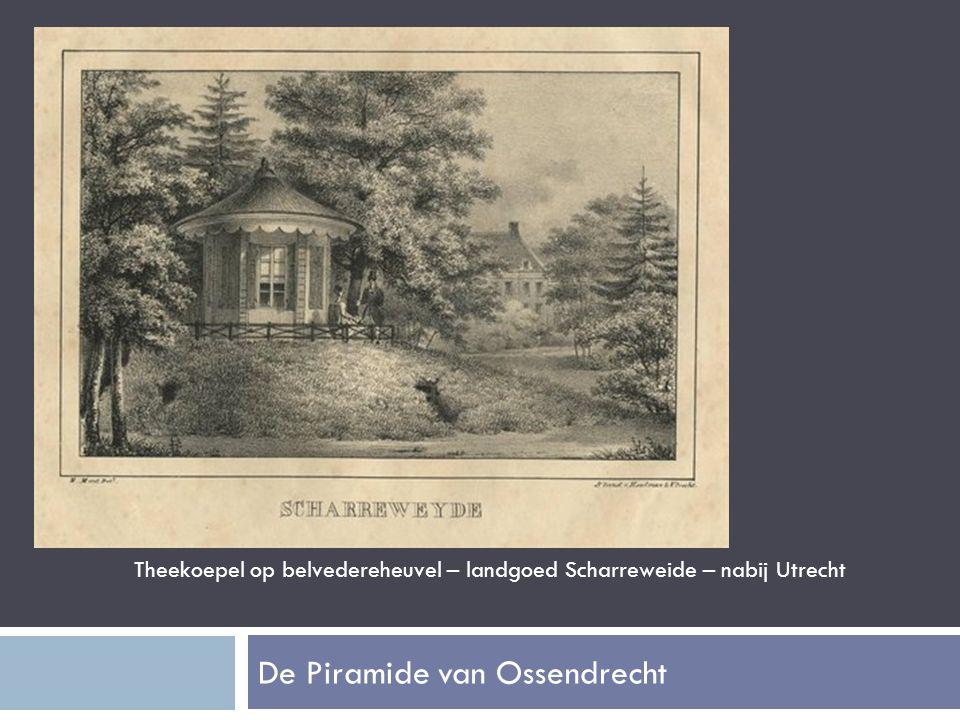 Theekoepel op belvedereheuvel – landgoed Scharreweide – nabij Utrecht