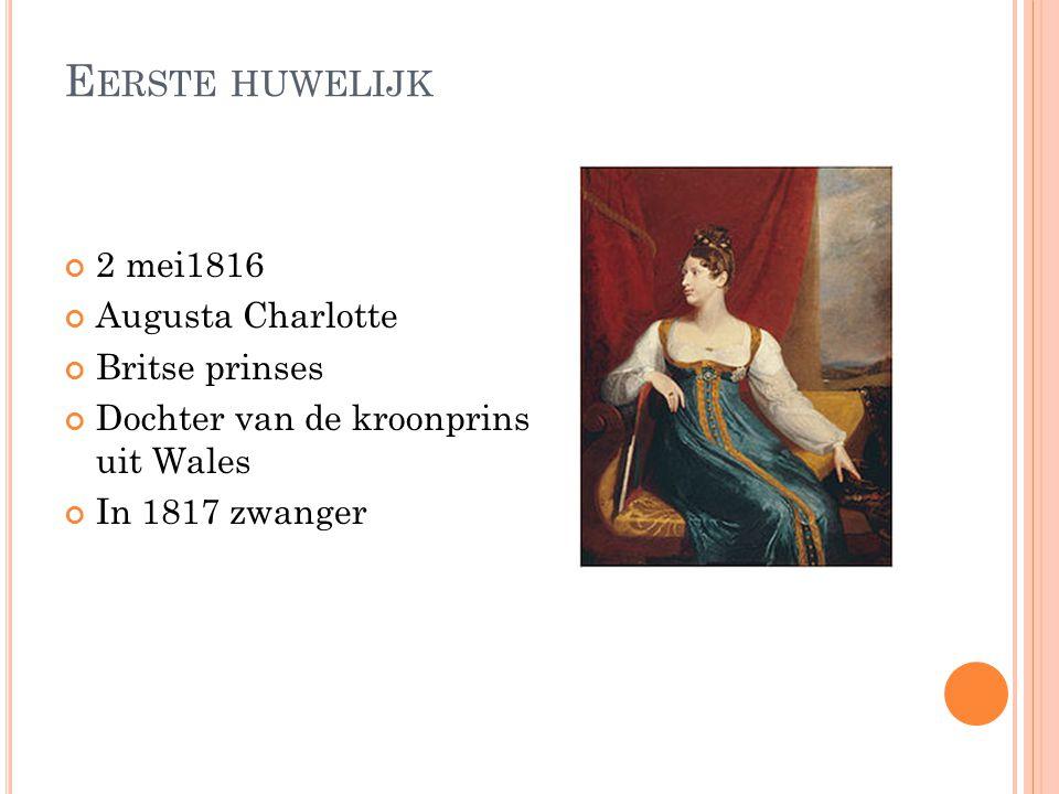 M OEDER EN VADER Augusta van Reuss-Ebersdrof en Lobenstein(moeder van Leopold 1 van Belgie) Frans van Saksen-Cobrug-Saalfeld(vader van Leopold 1 van B