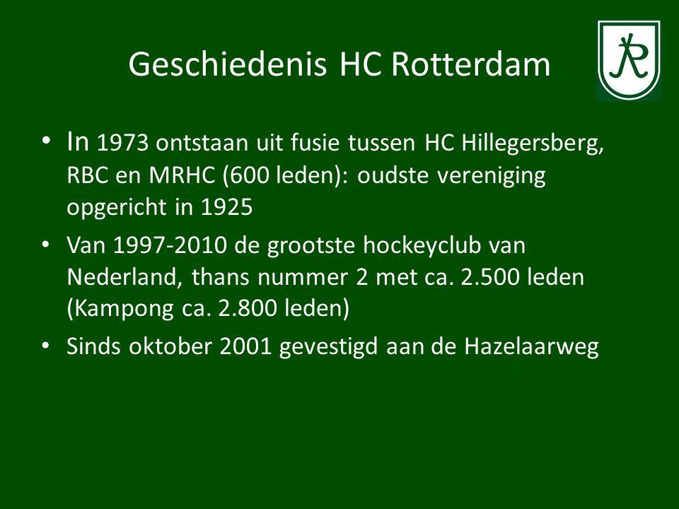Geschiedenis HC Rotterdam • Heren 1 sinds 2005 stabiele hoofdklasser die meedoet om de titel: 2013 Landskampioen.