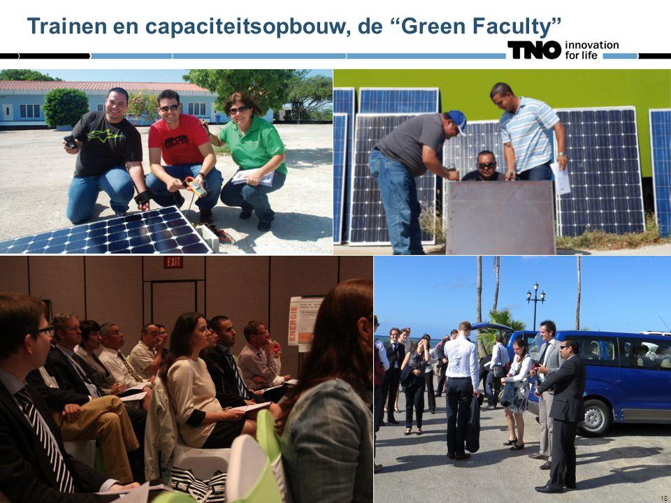 """18 Trainen en capaciteitsopbouw, de """"Green Faculty"""" 18"""