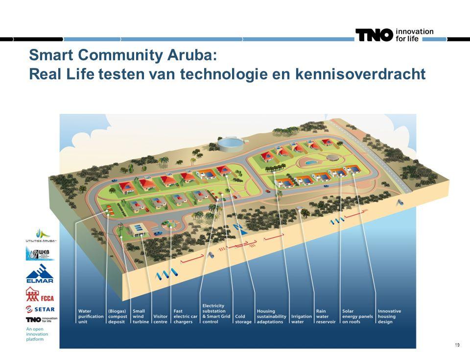 19 Smart Community Aruba: Real Life testen van technologie en kennisoverdracht