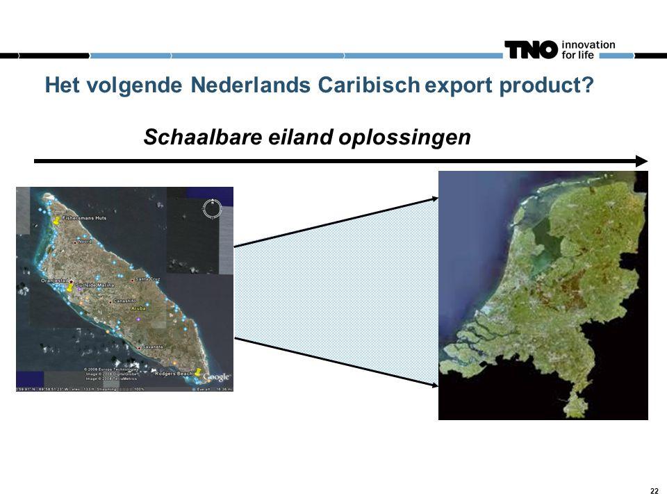Het volgende Nederlands Caribisch export product? Schaalbare eiland oplossingen 22