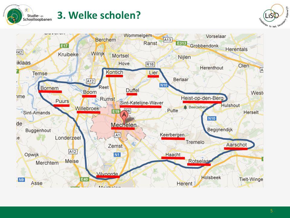 3. Welke scholen? 5