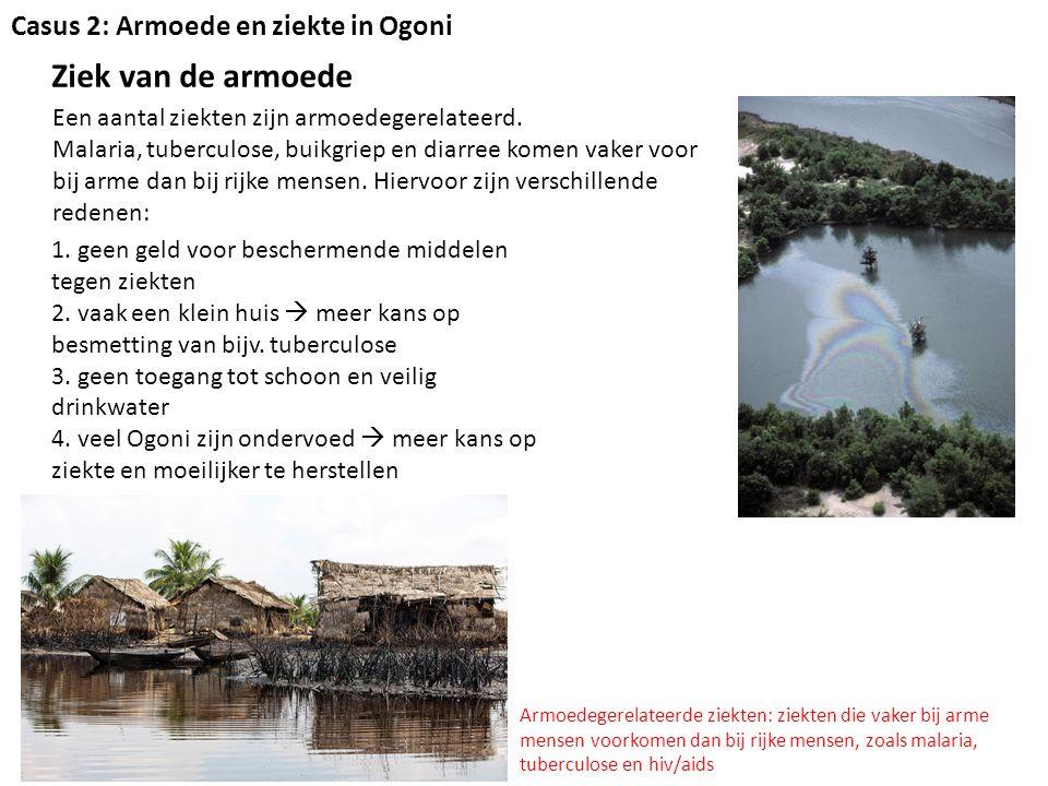 Ziek van Ogoniland Naast armoede zijn er nog andere oorzaken voor de gezondheidsproblemen 1.