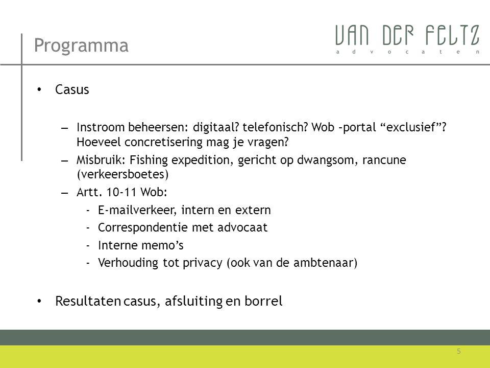 Misbruik • Rb Oost-Brabant, 26 april 2013, AB 2013, 323 (CJIB) • Wob voorziet niet in mogelijkheid om Wob-verzoeken buiten behandeling te laten wegens misbruik recht.