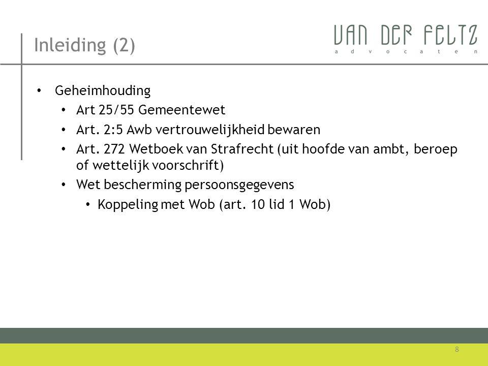 Milieu-informatie.Geen informatie als bedoeld in 19.1.a Wm sub a.