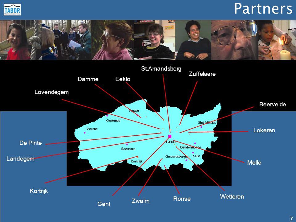 Netwerken 8 Het gemeenschappelijk objectief om een zo hoog mogelijke standaard van menswaardigheid te bereiken brengt de organisaties van de Tabor-groep samen.
