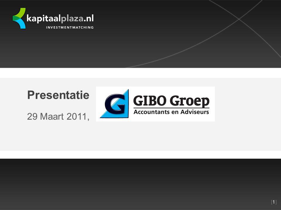 [1][1]Titel plus versienummer presentatie 22-10-2010 Presentatie 29 Maart 2011,