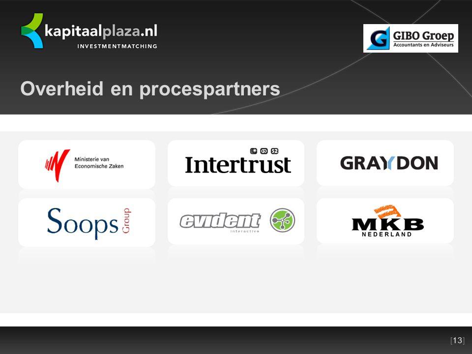 [13]Titel plus versienummer presentatie 22-10-2010 Overheid en procespartners