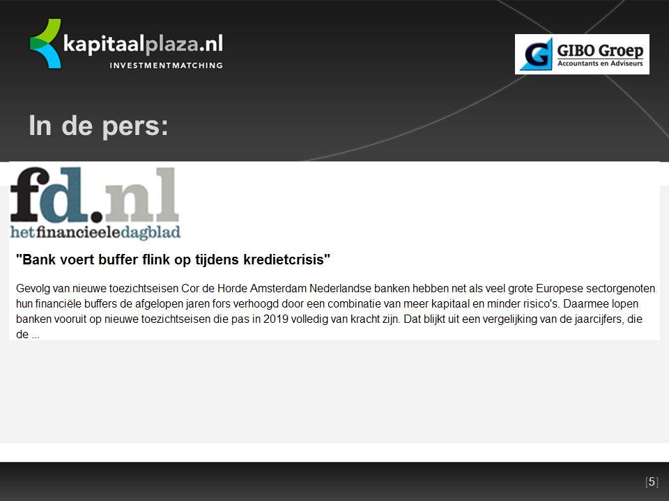 [5][5]Titel plus versienummer presentatie 22-10-2010 In de pers: