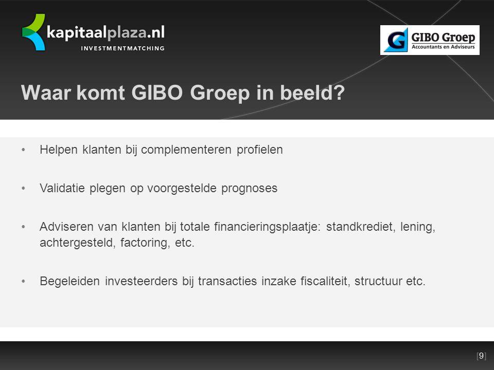 [9][9]Titel plus versienummer presentatie 22-10-2010 Waar komt GIBO Groep in beeld.