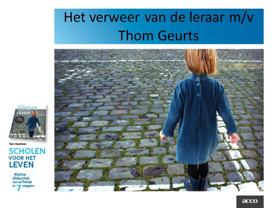 Het verweer van de leraar m/v Thom Geurts
