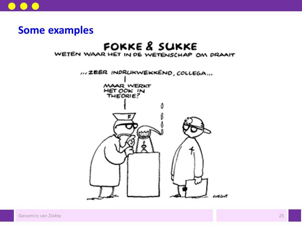 e-Bioscience Genomics van Ziekte24