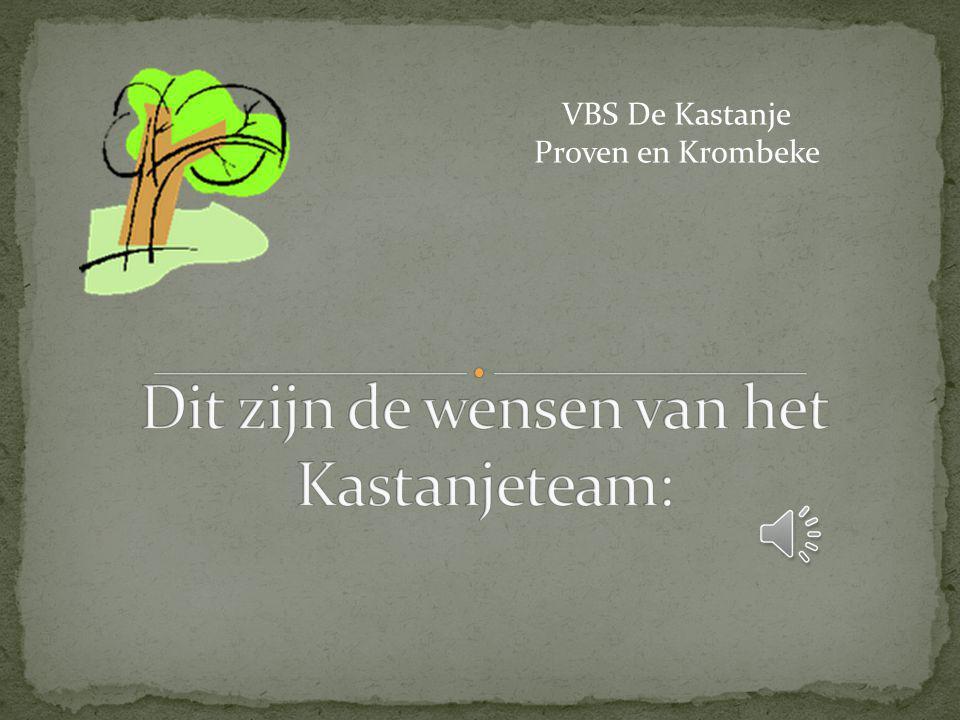 VBS De Kastanje Proven en Krombeke