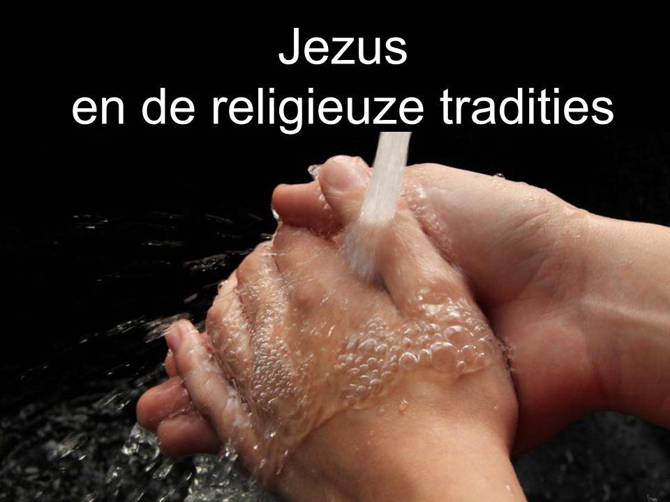 Jezus en de religieuze tradities