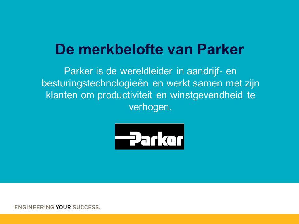 Parker is de wereldleider in aandrijf- en besturingstechnologieën en werkt samen met zijn klanten om productiviteit en winstgevendheid te verhogen.
