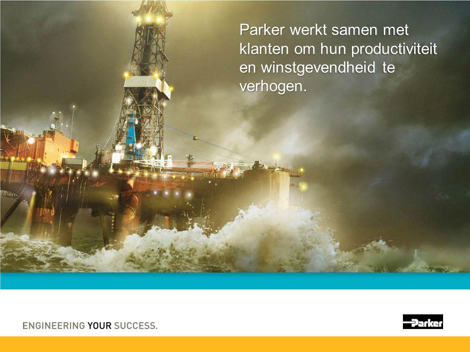 Parker werkt samen met klanten om hun productiviteit en winstgevendheid te verhogen.