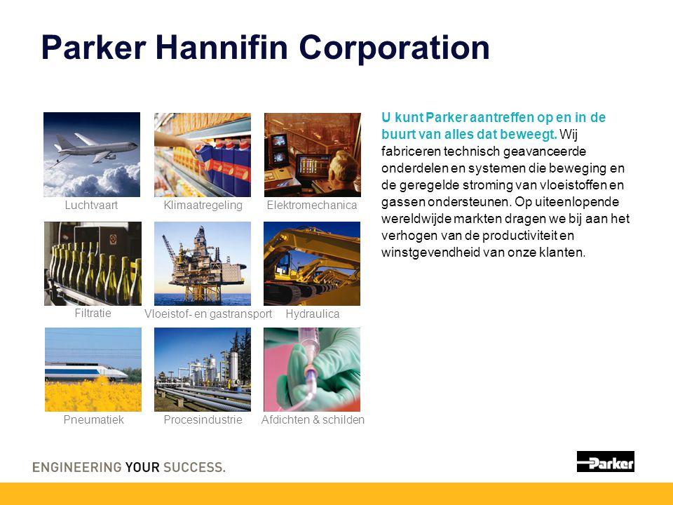 Parker Hannifin Corporation U kunt Parker aantreffen op en in de buurt van alles dat beweegt.