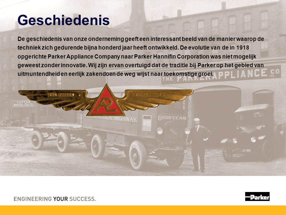 Geschiedenis De geschiedenis van onze onderneming geeft een interessant beeld van de manier waarop de techniek zich gedurende bijna honderd jaar heeft ontwikkeld.