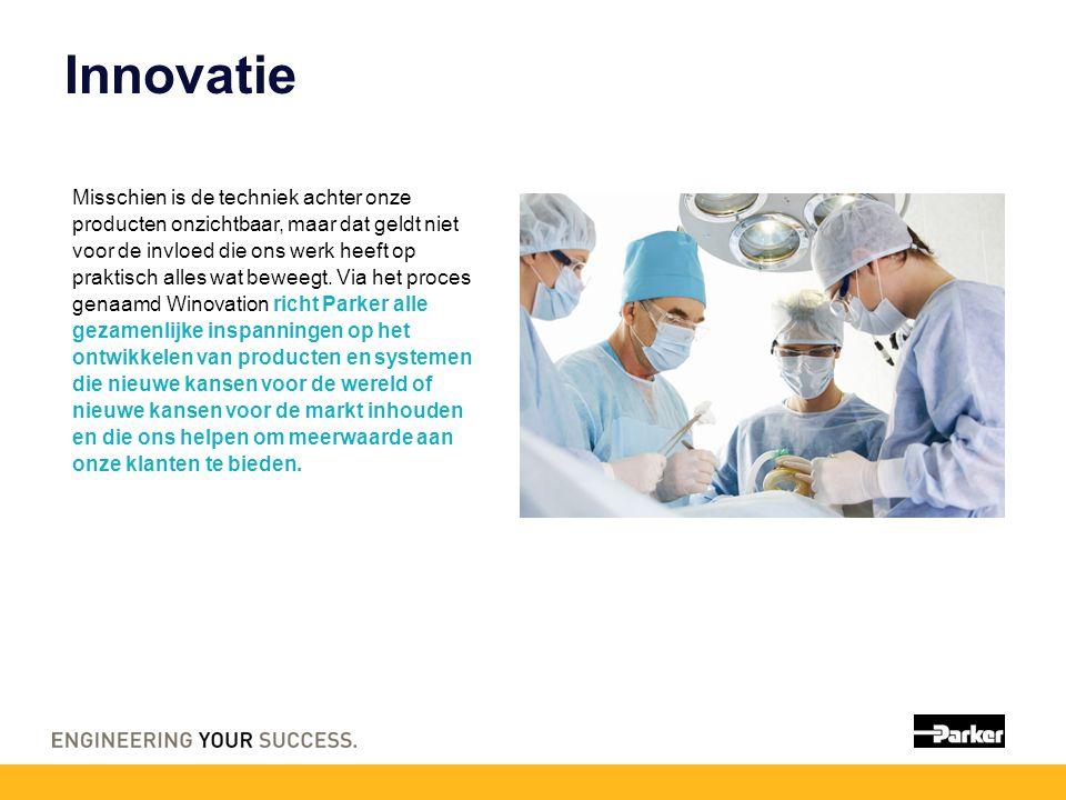 Innovatie Misschien is de techniek achter onze producten onzichtbaar, maar dat geldt niet voor de invloed die ons werk heeft op praktisch alles wat beweegt.