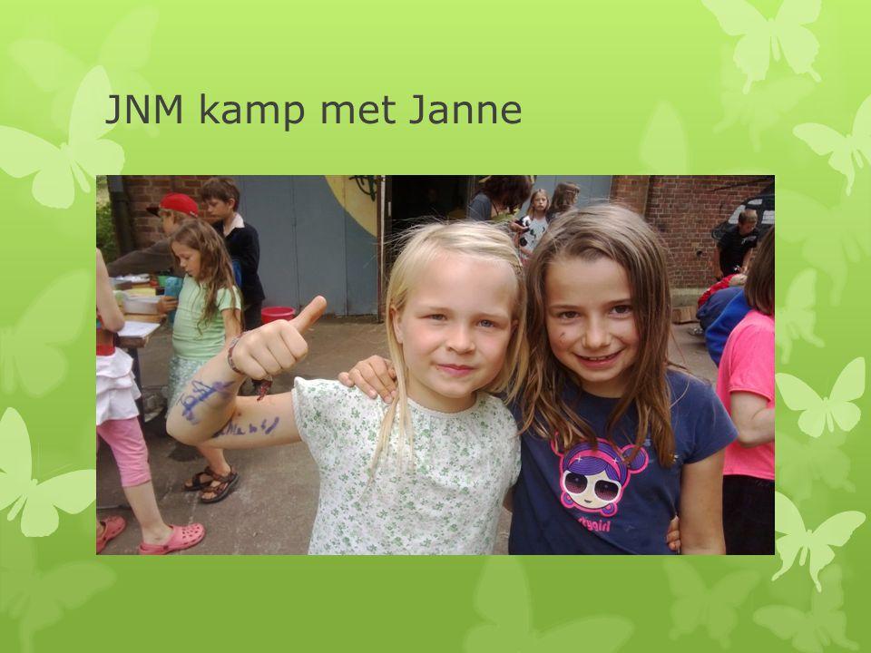 JNM kamp met Janne
