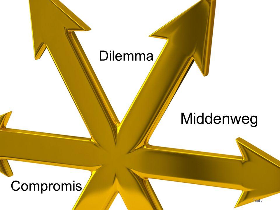 3 DNB Titel / Dilemma Middenweg Compromis