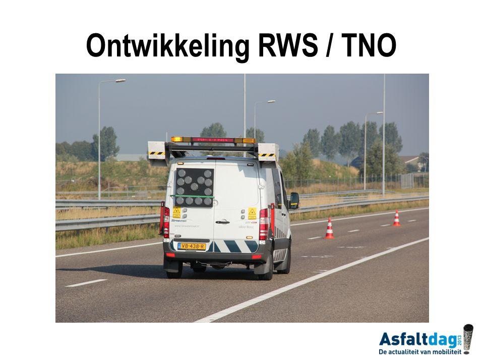 Ontwikkeling RWS / TNO