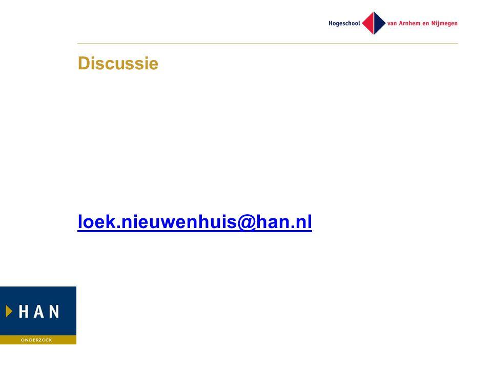 Discussie loek.nieuwenhuis@han.nl