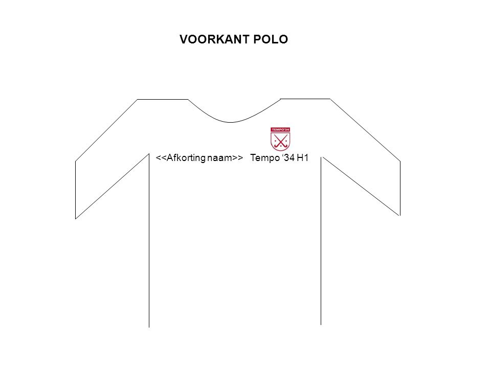 VOORKANT POLO Tempo '34 H1 >