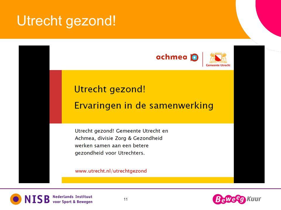11 Utrecht gezond!