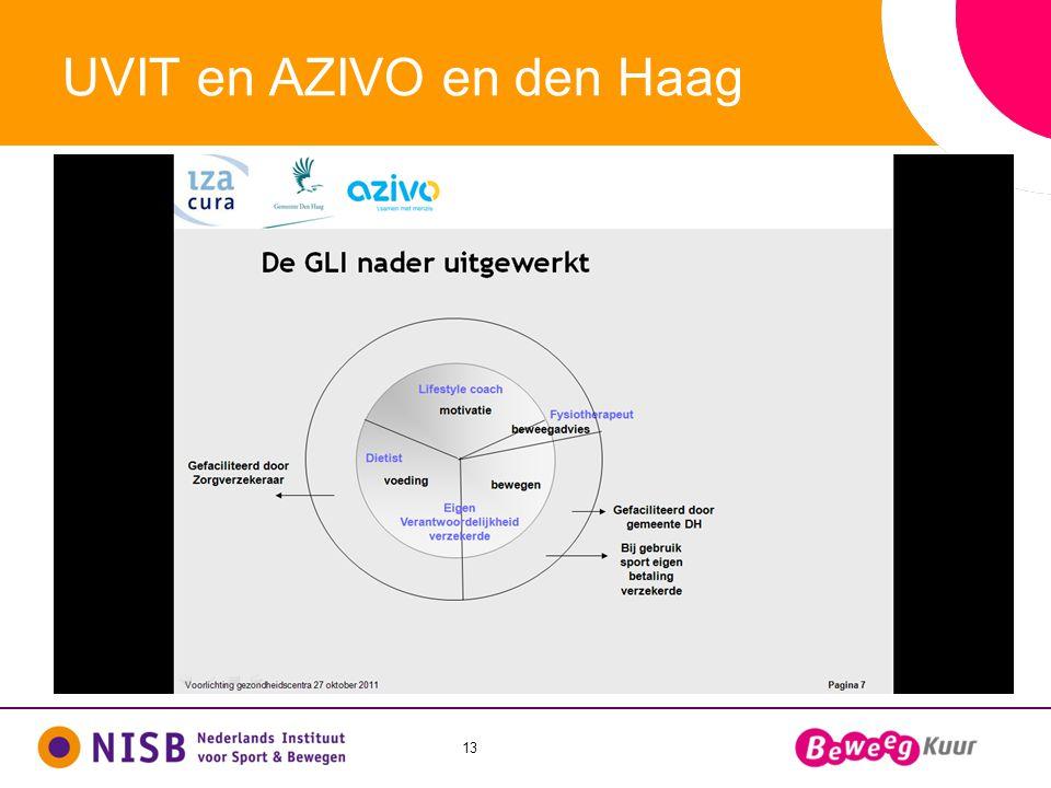 13 UVIT en AZIVO en den Haag