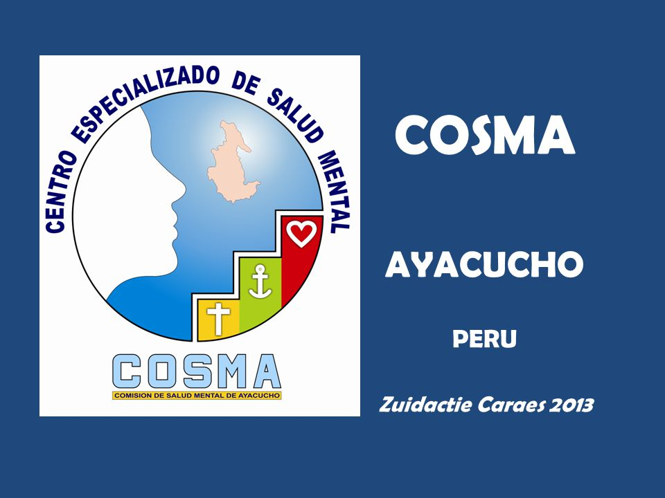 COSMA AYACUCHO PERU Zuidactie Caraes 2013