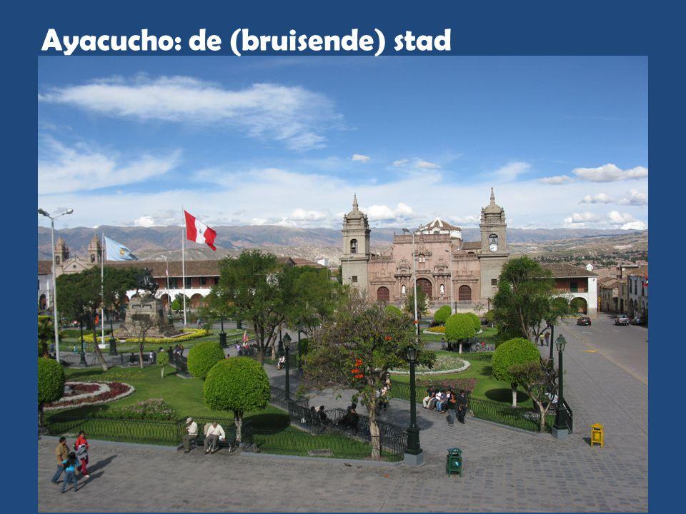 Ayacucho: de (bruisende) stad