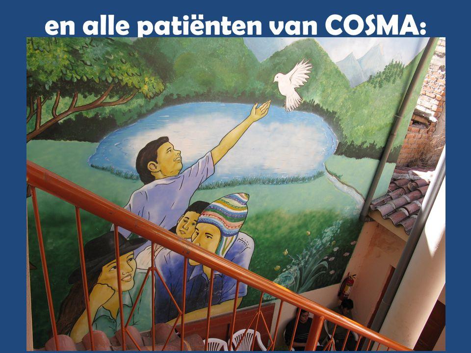 en alle patiënten van COSMA: