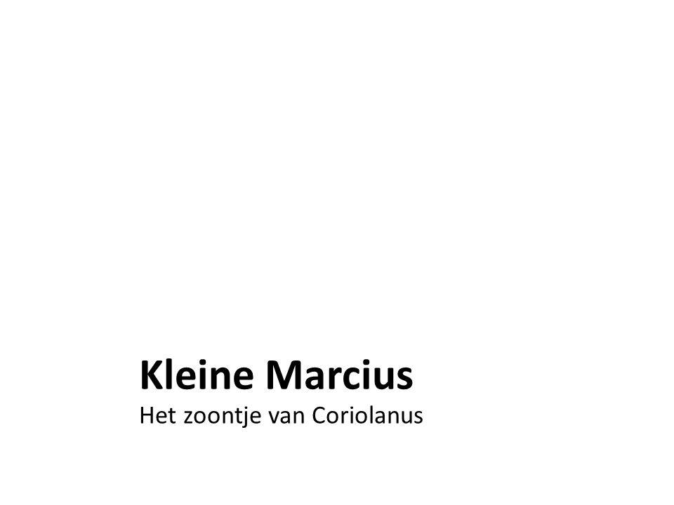 Kleine Marcius Het zoontje van Coriolanus