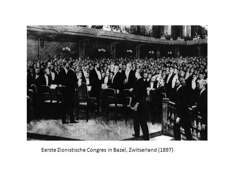 Eerste Zionistische Congres in Bazel, Zwitserland (1897)