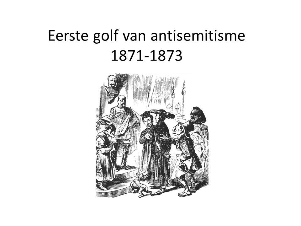 Eerste golf van antisemitisme 1871-1873