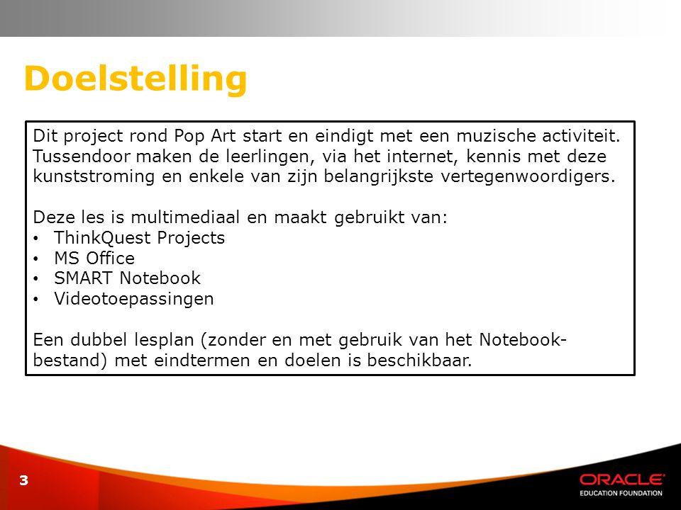 14 Inhoud werkbladen MS Office Word Leerkracht : • Lesplan zonder gebruik van het Notebookbestand.