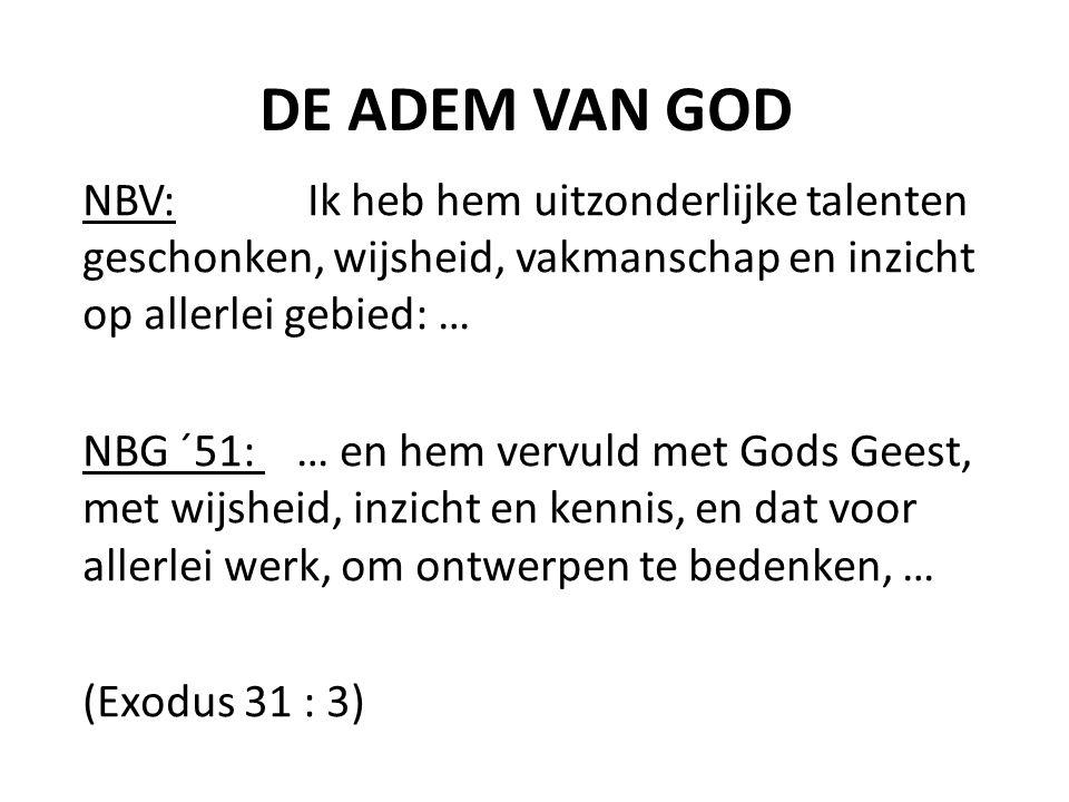 DE ADEM VAN GOD • Taal • Ervaringen • Gaven • Zuchten
