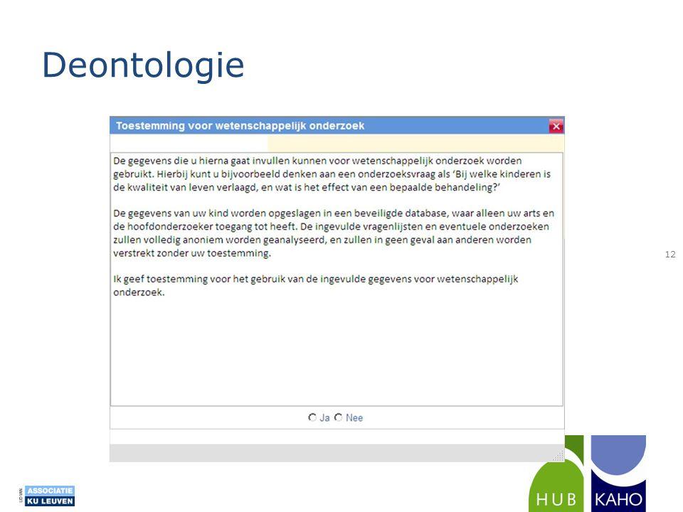 Deontologie 12