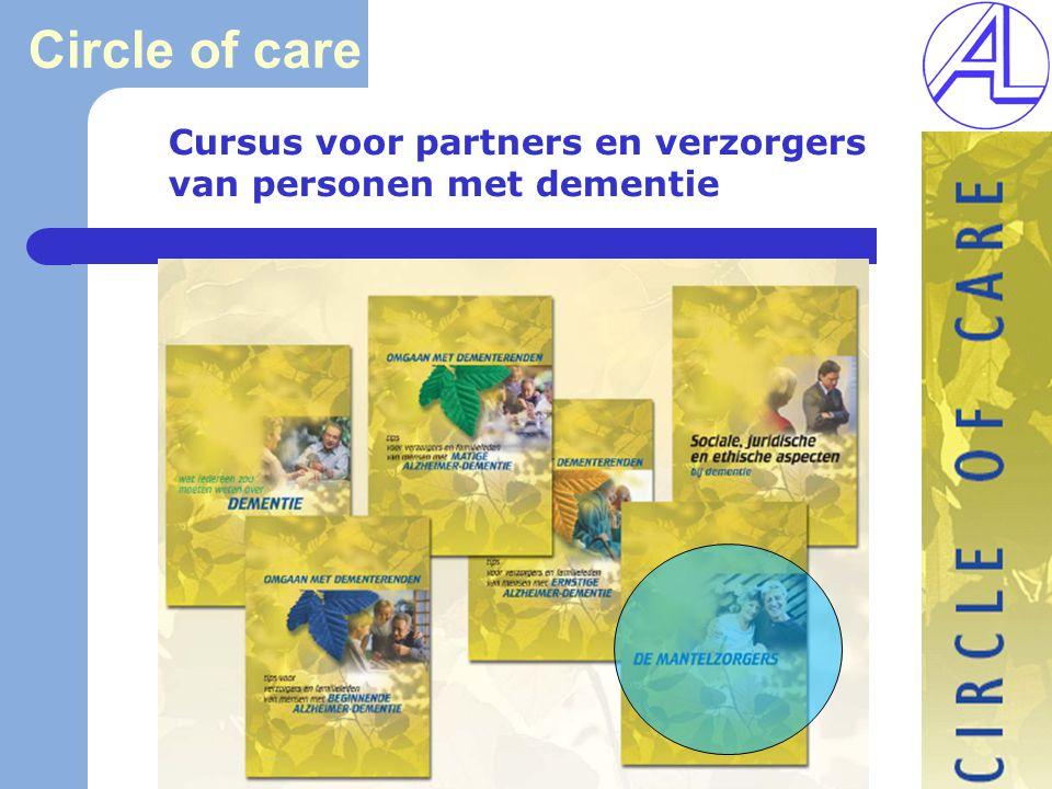 Circle of care Cursus voor partners en verzorgers van personen met dementie