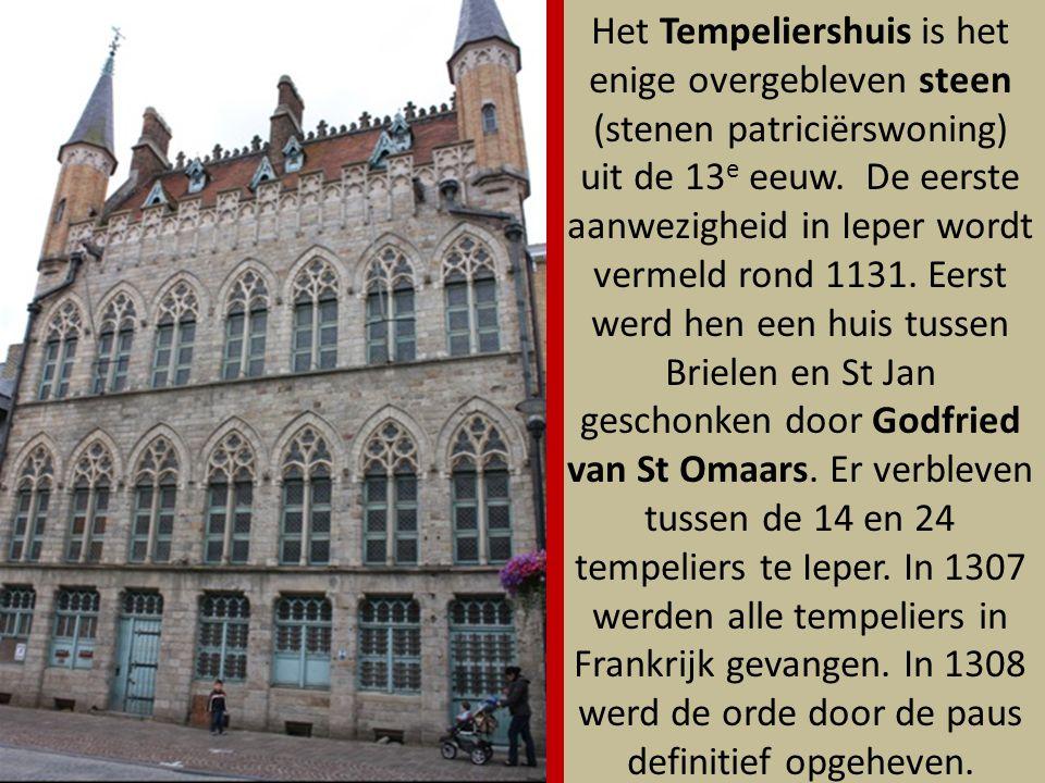 Het St Jansgodshuis gaat terug tot 1270, toen er crisis heerste in de lakennijverheid door een tekort aan wol uit Engeland.
