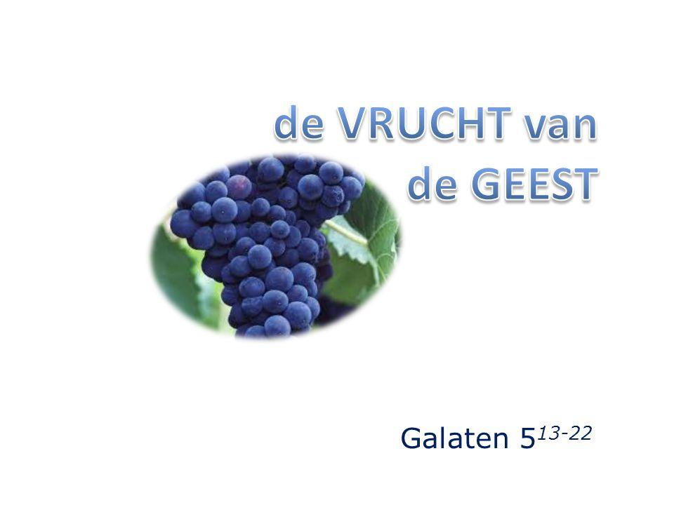 Galaten 5 13-22