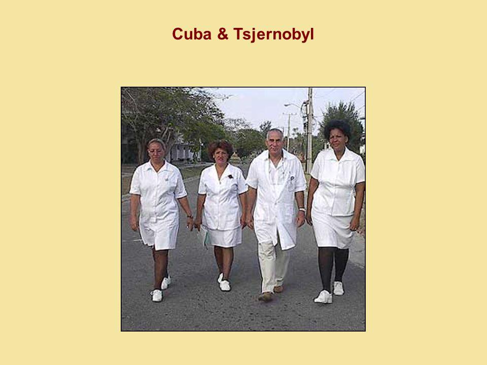Cuba & Tsjernobyl « Het is eenvoudig.We geven niet weg wat we te veel hebben.