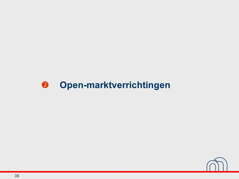 35  Open-marktverrichtingen
